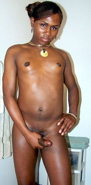 shemale black cock