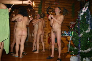 nudist family christmas