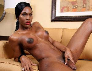big ebony shemale