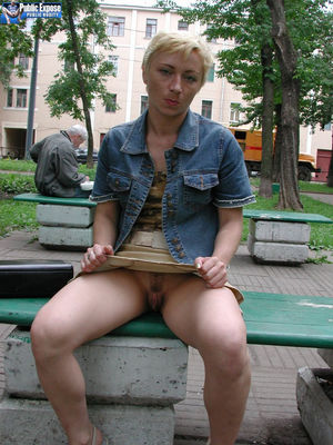 sexy girl masturbating in public