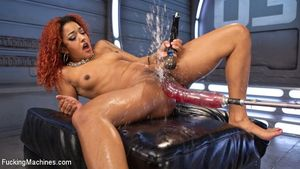 ebony machine squirt